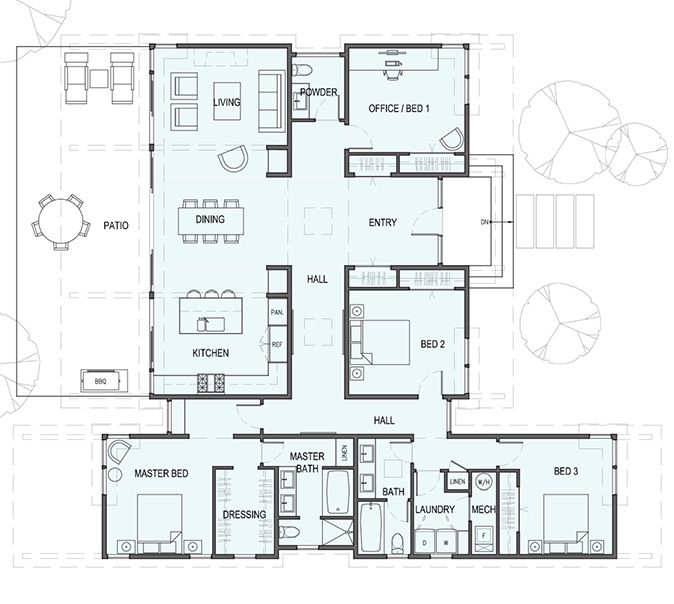 Sd142 U2013 Works Well With A Basement Garage   Stillwater Dwellings. House  PlannerDream ...