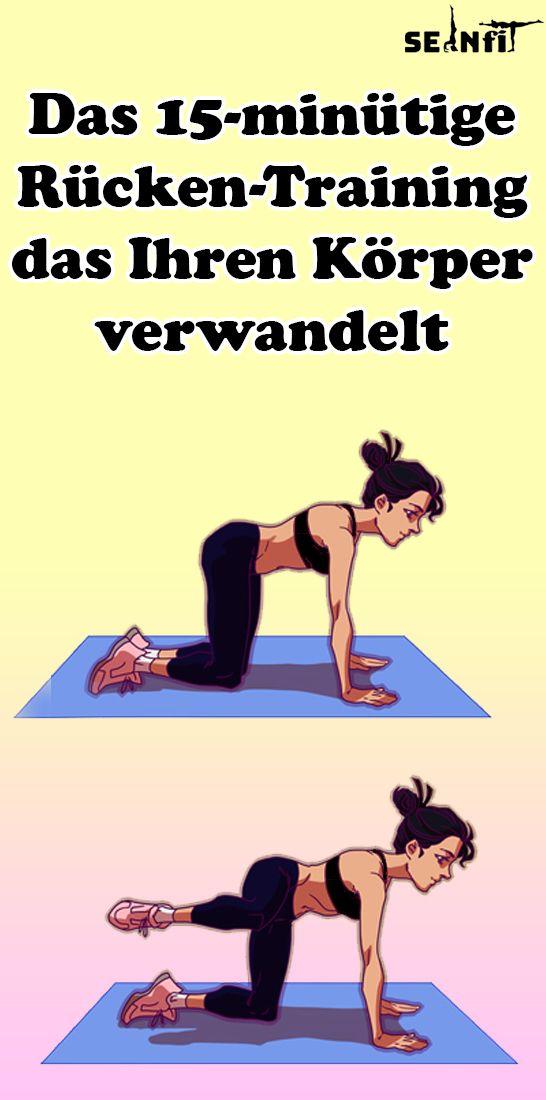 Das 15-minütige Rücken-Training, das Ihren Körper verwandelt