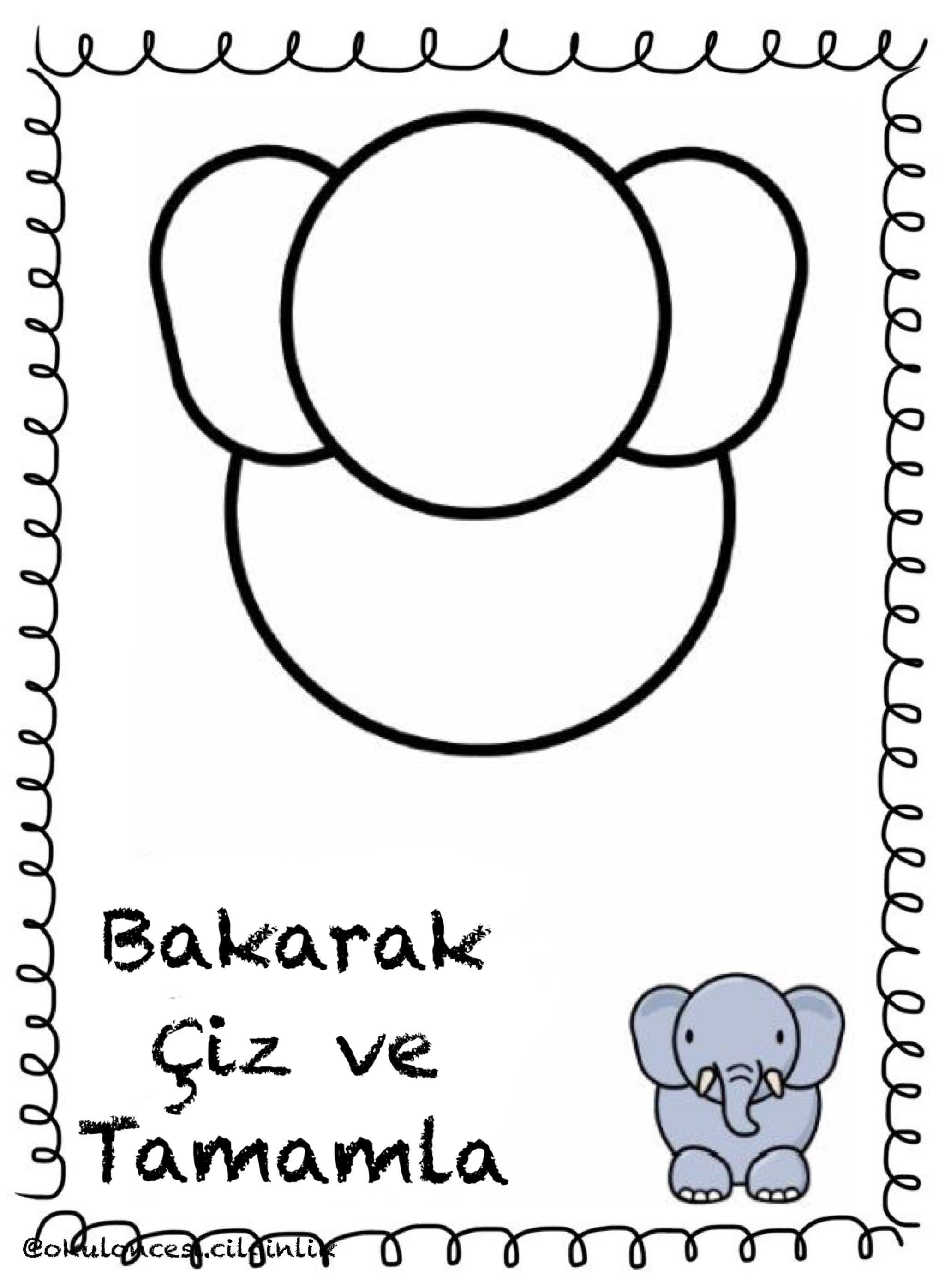 Selda Yilmaz Demirci Adli Kullanicinin Bakarak Ciz Ve Tamamla Panosundaki Pin Boyama Sayfalari Sanat Faaliyetler