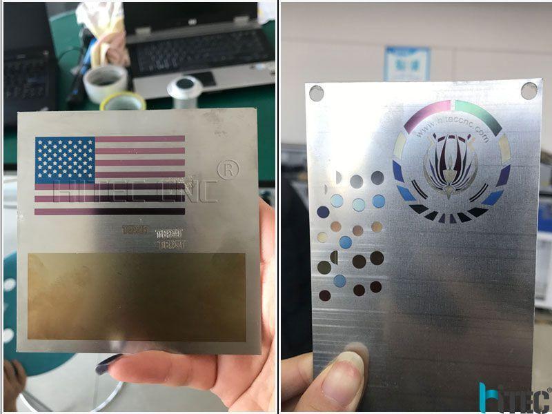 Full Color Laser Engraving On Metal In 2020 Laser Marking Laser Engraving Laser Engraving Machine