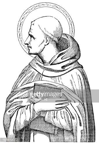 saint-bernard-of-clairvaux-illustration-id168859072 (343×500 ...