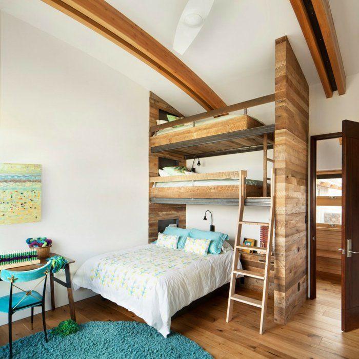etagenbett ausgefallenes design wohnideen kinderzimmer runder