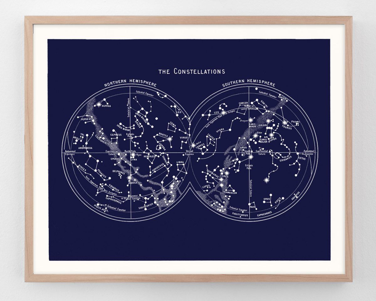 49 Vintage Constellation Prints And Star Maps Ideas Constellations Constellation Print Prints