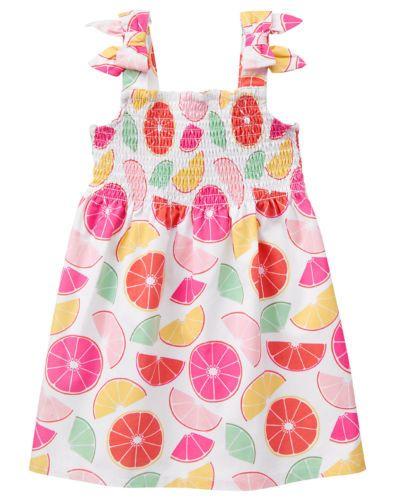 NWT Toddler Girls 2T 3T White Pink Blue Yellow Green Dot Summer Dress Sundress