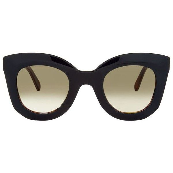 163fc6fbba26 Céline Marta Sunglasses ( 330) ❤ liked on Polyvore featuring accessories