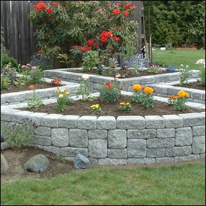 How To Build A Terraced Stone Planter Roman Stackstone