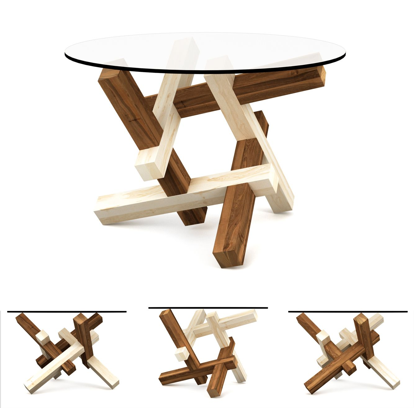 2x3 Puzzle Coffee Table (Special Edition Collection) The