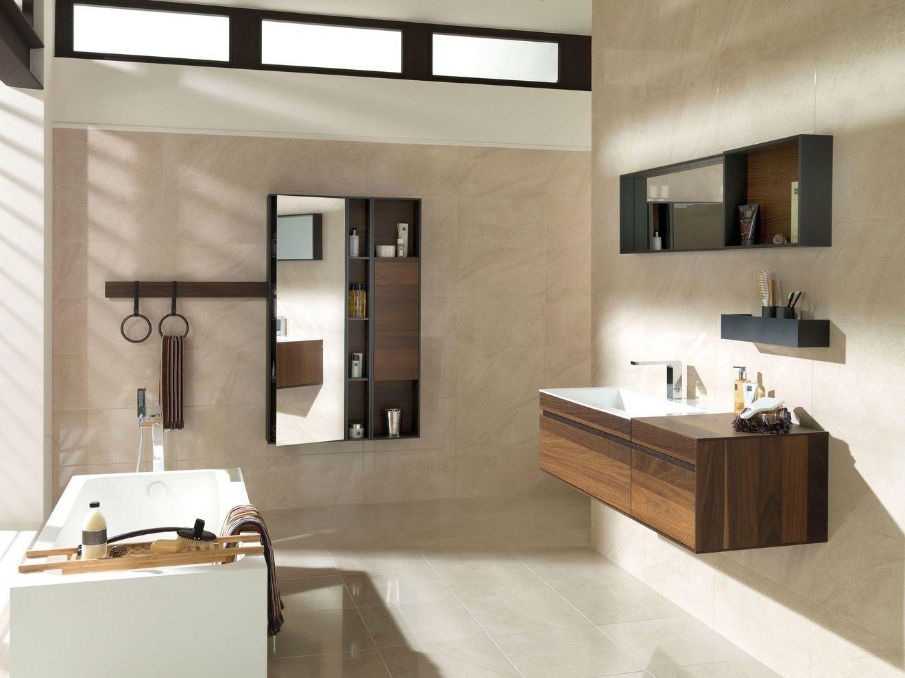 Meuble salle de bain bois  Meuble salle de bain, Meuble de salle