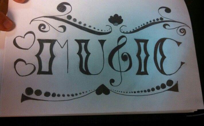 Music Drawing Adrianna Drawings Pinterest Music Drawings