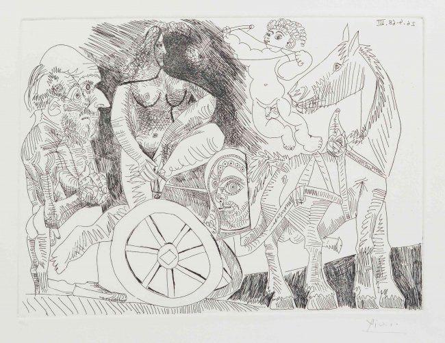Pablo Picasso, 1968