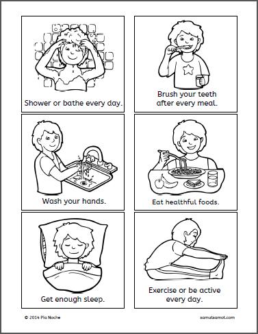 Alpabetong Filipino Worksheet For Grade 1 : Good health habits winter preschool ideas pinterest