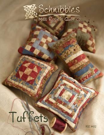 Tuffets Pincushions Pattern Designer Miss Rosie's Quilt Co. - Size ... : quilted pincushion patterns - Adamdwight.com