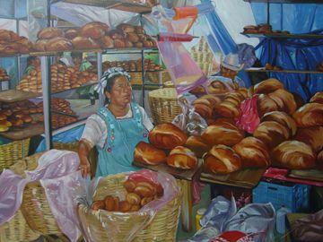 Oaxaca Bread Lady