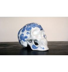 SKULL CASHMERE BLUE BY NooN