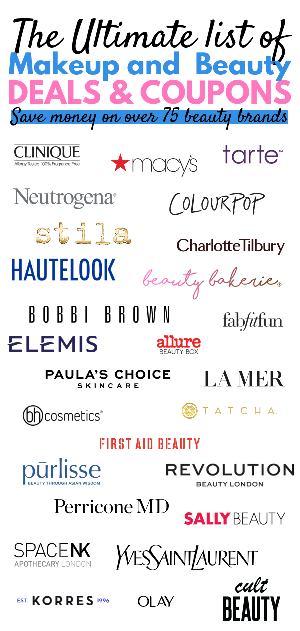 The Ultimate List Of Beauty Deals Coupons Beauty Deals Beauty Coupons Paula S Choice Skincare