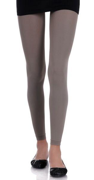 8205ee7c5eba9 Designer Footless Tights Medium Grey. Upgrade your wardrobe with Zohara  designer footless tights, these