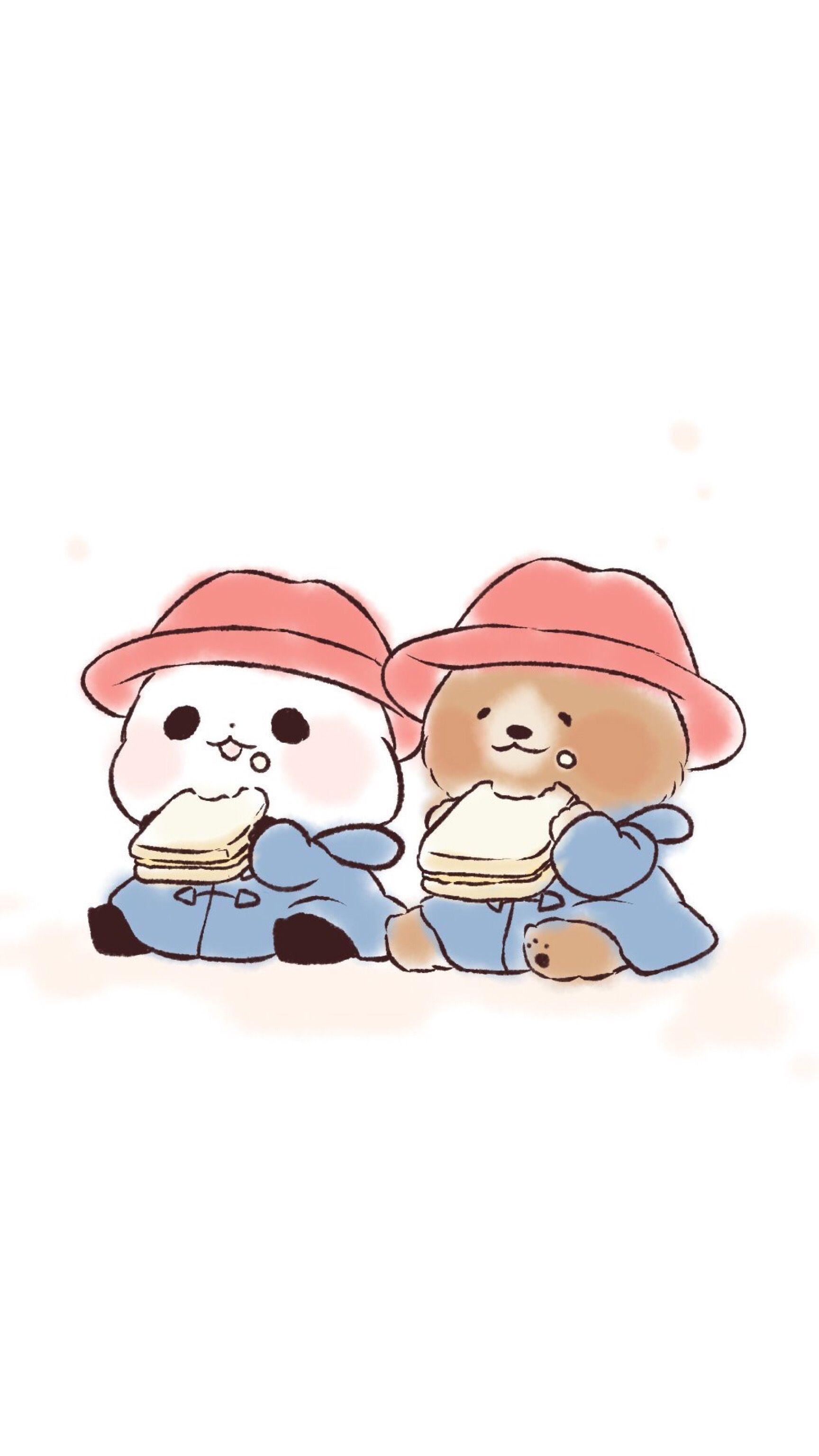 Yururinpanda Panda Pandawallpaper Wallpaper Chibi Cartoon Design Cute Wallpapers