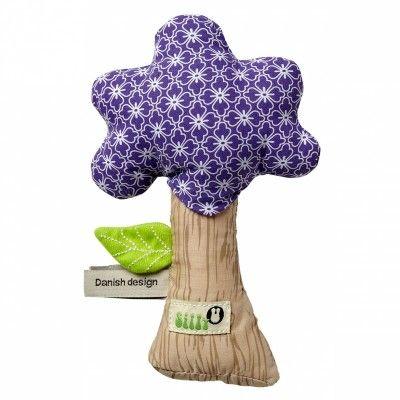 Hochet pouet pouet arbre fille (16 cm)