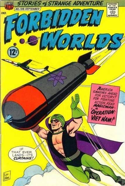 Forbidden Worlds (Volume) - Comic Vine | Comics, Comic ...