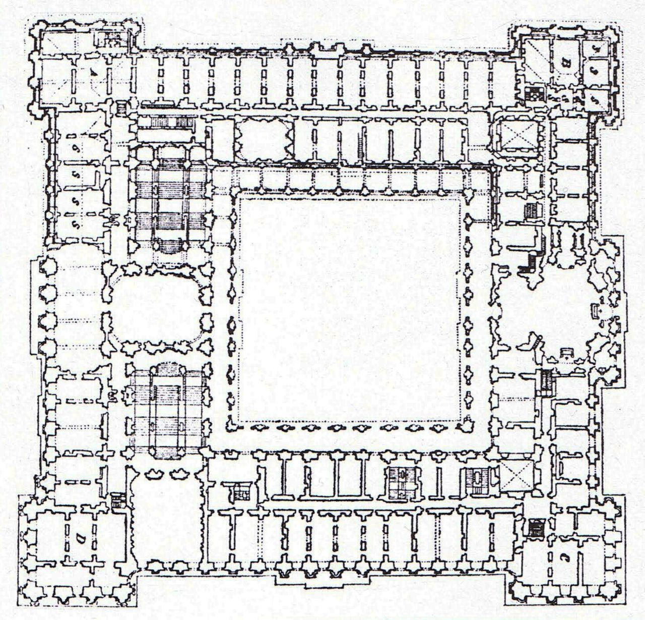 Archi Maps Castle Floor Plan Royal Palace Castle Plans