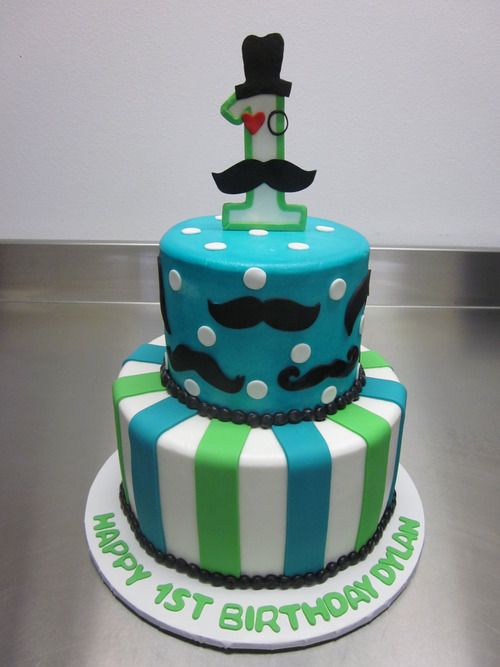 Ele Makes Cakes I Mustache You A Question Parties