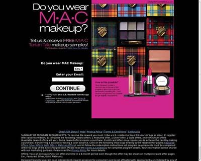 Get MAC, Covergirl, Victoria Secret, Mary Kay cosmetics