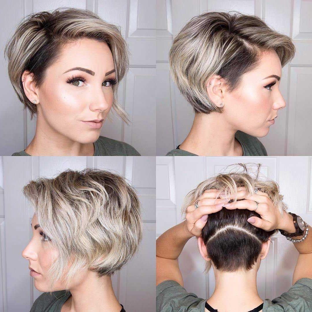 Haare Schneiden Kurz Frau