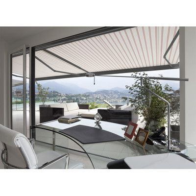 Classic Series Electric Retractable Patio Awning Backyard