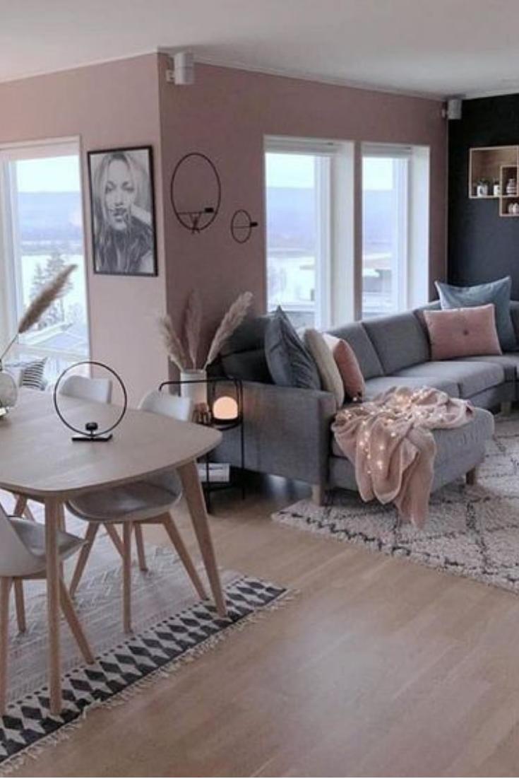 Idee Deco Salon Design magnifique salon tendance et cocooning #décoration #salon