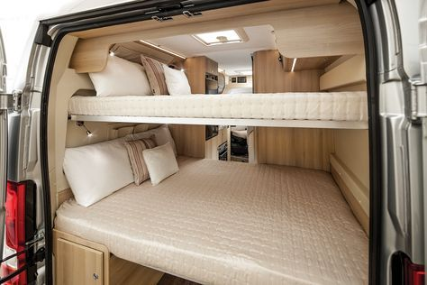 Campervan With Bunk Beds Luxury Tribute Campervan With 2x