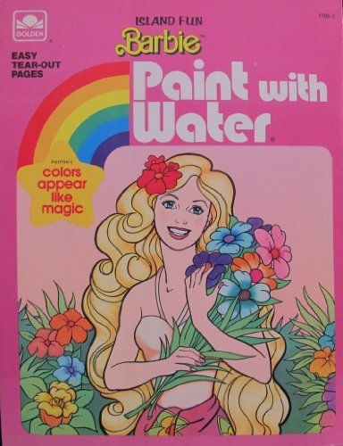 Explore Barbie Coloring Water Paints And More