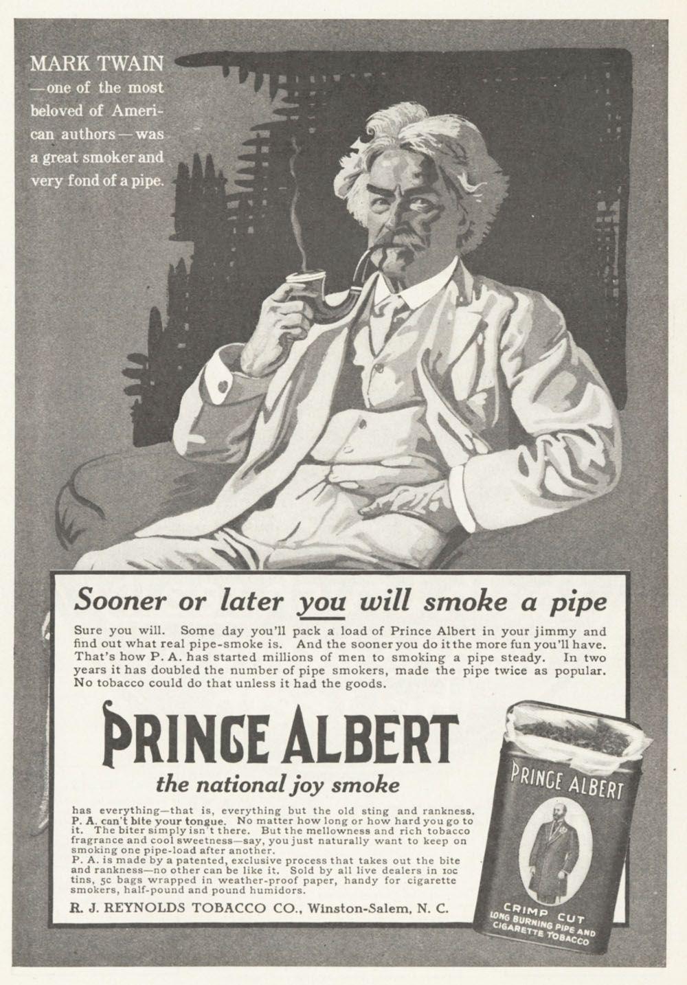 Brand: Prince Albert Manufacturer: R  J  Reynolds Tobacco
