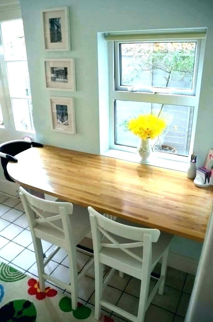 Great Breakfast Bar Idea For My Tiny Breakfast Room Small Kitchen Tables Kitchen Bar Table Small Kitchen Bar