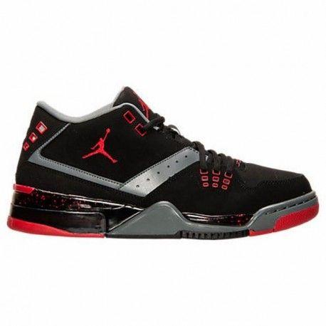 air jordan shoes flight,Men's Air Jordan Flight 23 Off Court Shoes Black/Gym  Red/Cool Grey/White 317820 021