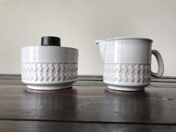 Roerstrand Keramik Nordica Zuckerdose