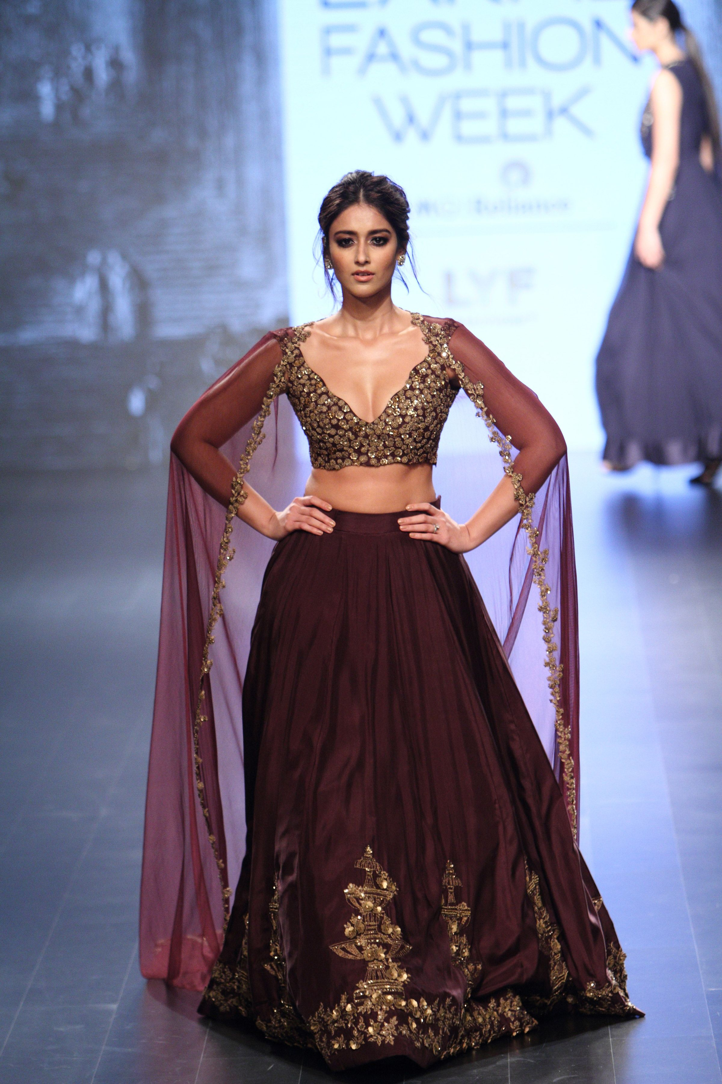Ridhi Mehra At Lakm 233 Fashion Week Winter Festive 2016