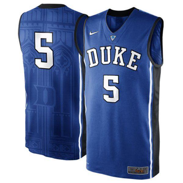 Duke Forward: Duke Blue Devils Men's Basketball Uniform