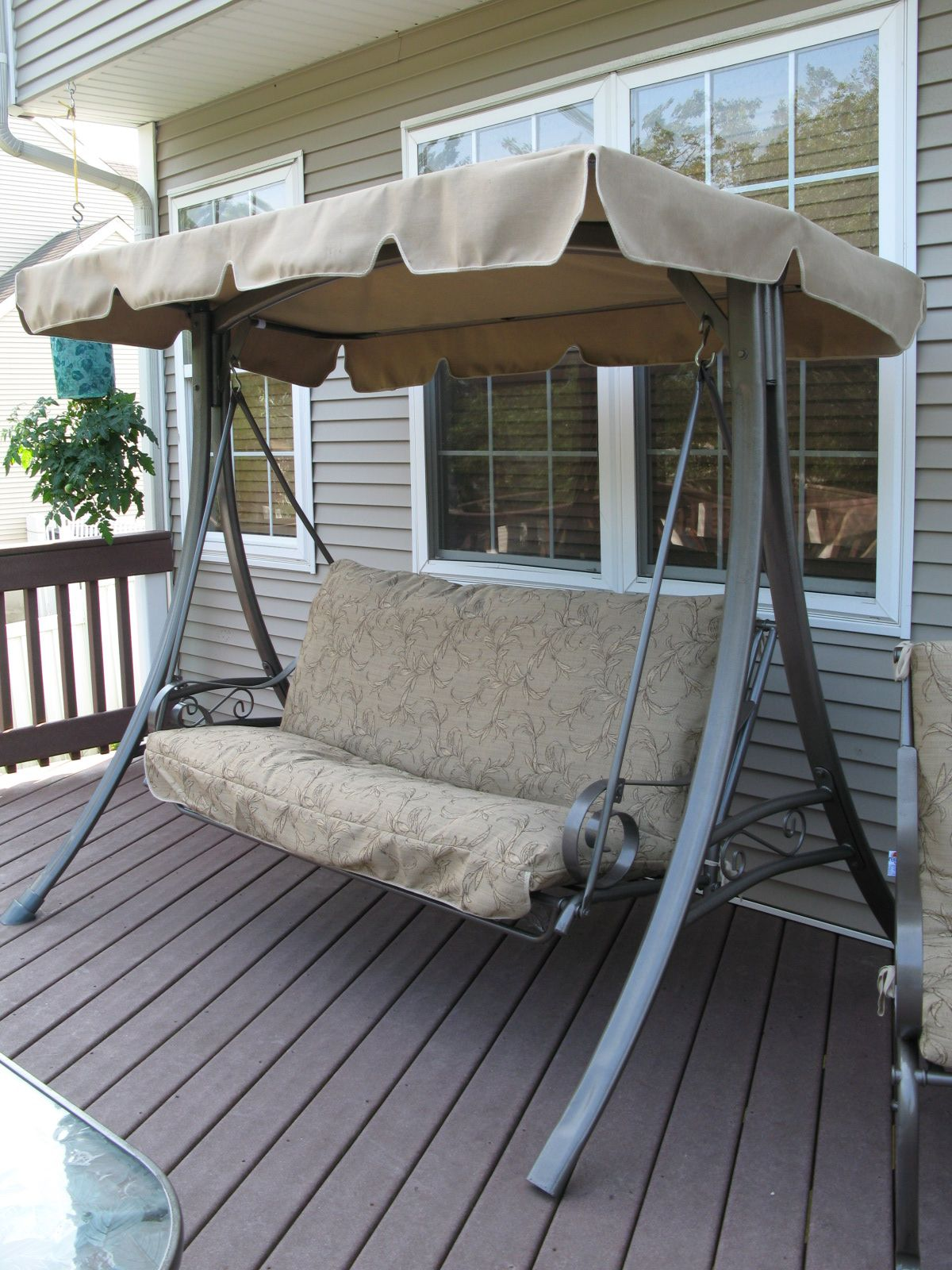 Another Refurbished Swing From Swing Cushion Covers  Http://www.swingcushioncovers.com. Patio IdeasBackyard IdeasOutdoor ...
