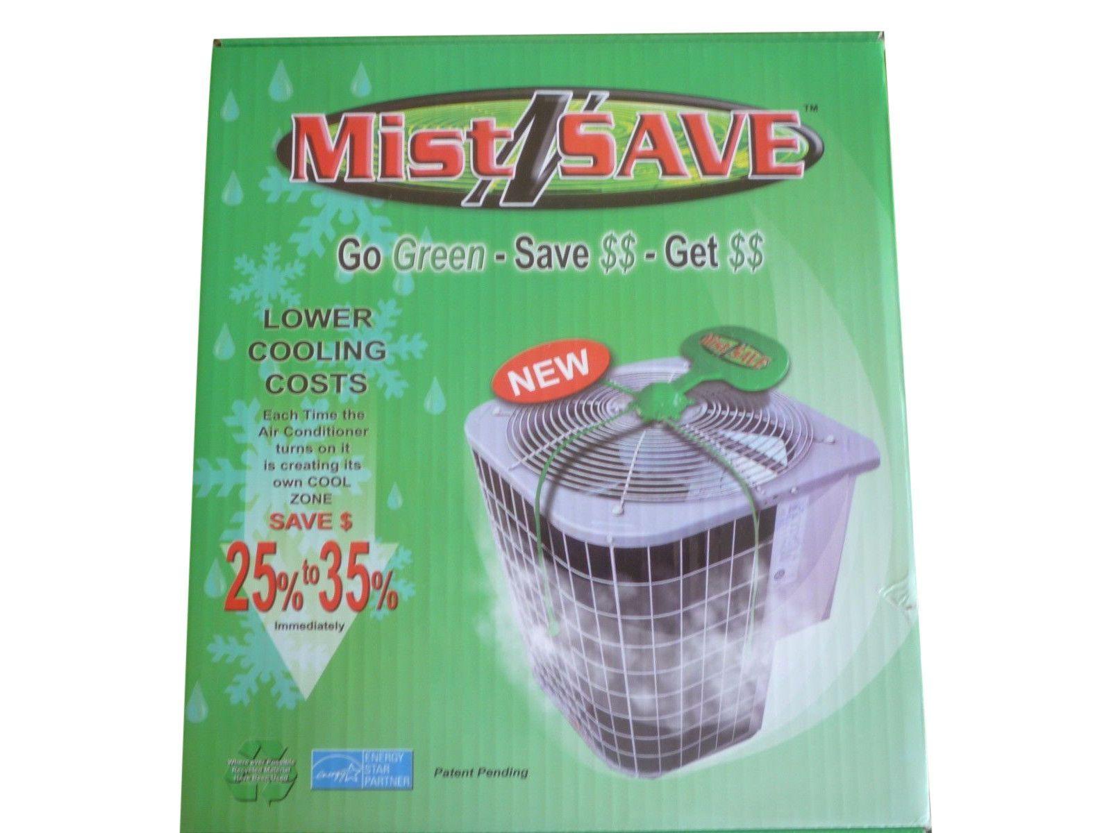 MistNSave AC Misting System Electricity saver, Mists