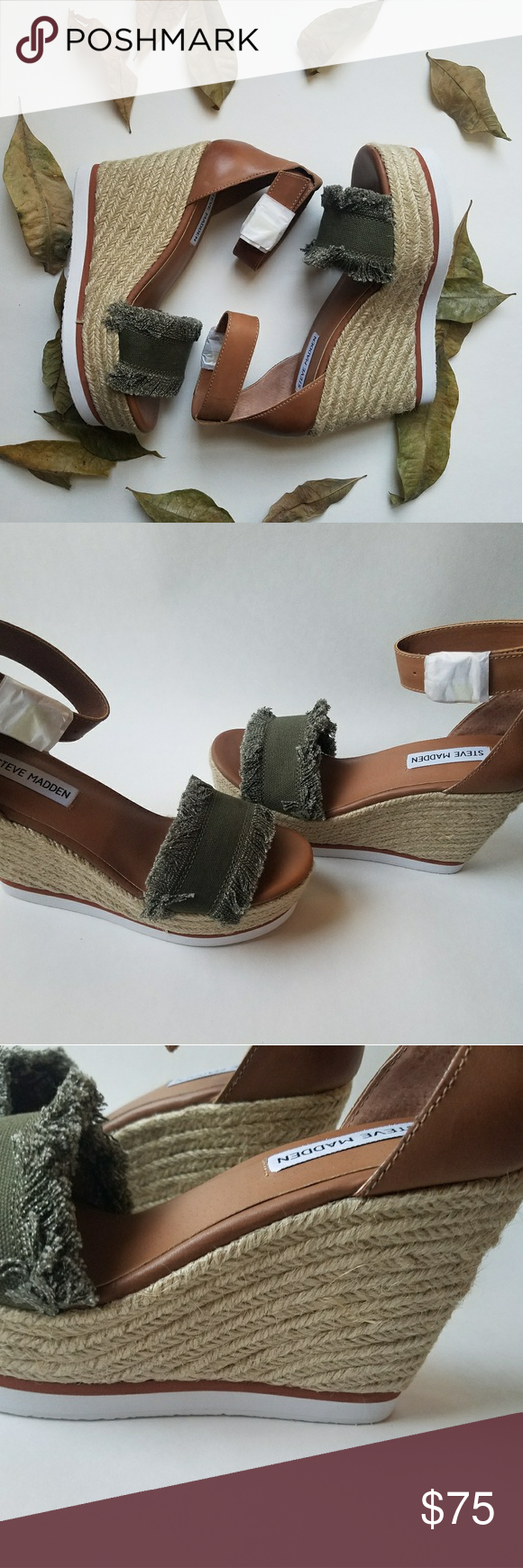 092e4a18067 Steve Madden Valley Wedge SANDAL - Simply BEAUTIFUL Steve Madden Shoes  Wedges
