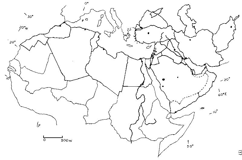 outline map of north africa and southwest asia   Google Search