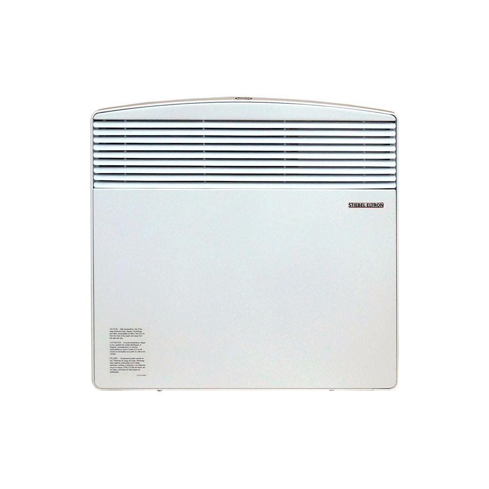 Stiebel Eltron Electric 1000 Watt 240 Volt Wall Mounted Convection Heater Alpine White Heater Convection Room Heater