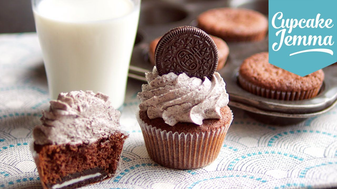 Cupcake Jemma Cake Recipe: Cookies & Cream Oreo Cupcake Recipe