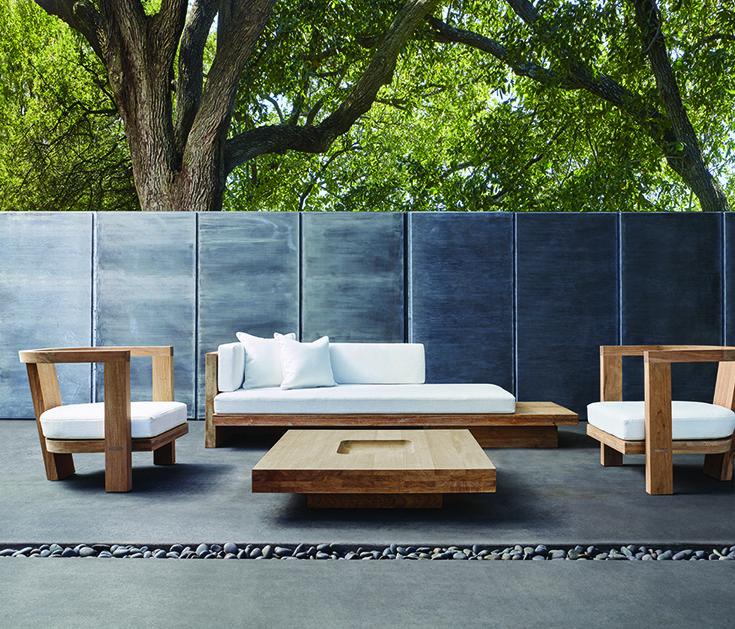Plateau Sutherland Backyard Patio, David Sutherland Furniture