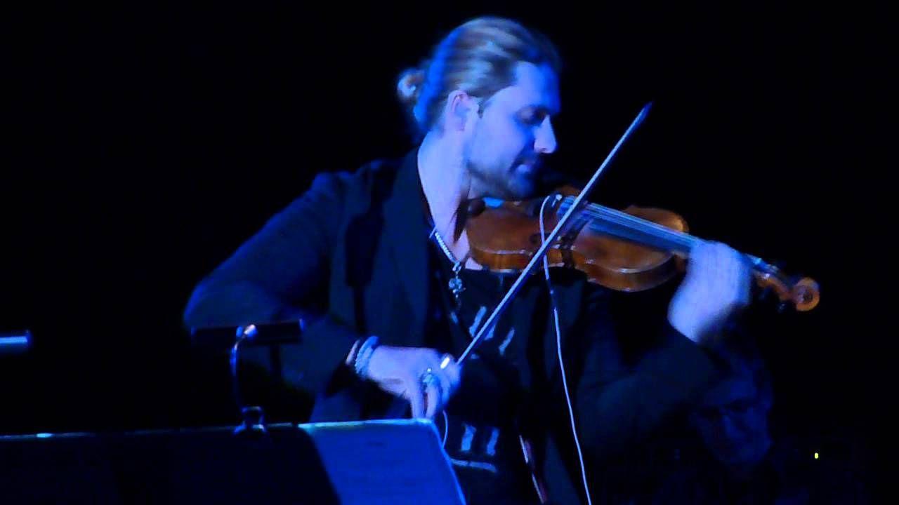 "David Garrett: ""She's Out Of My Life"", 19 Mar 2014, New York [live]"