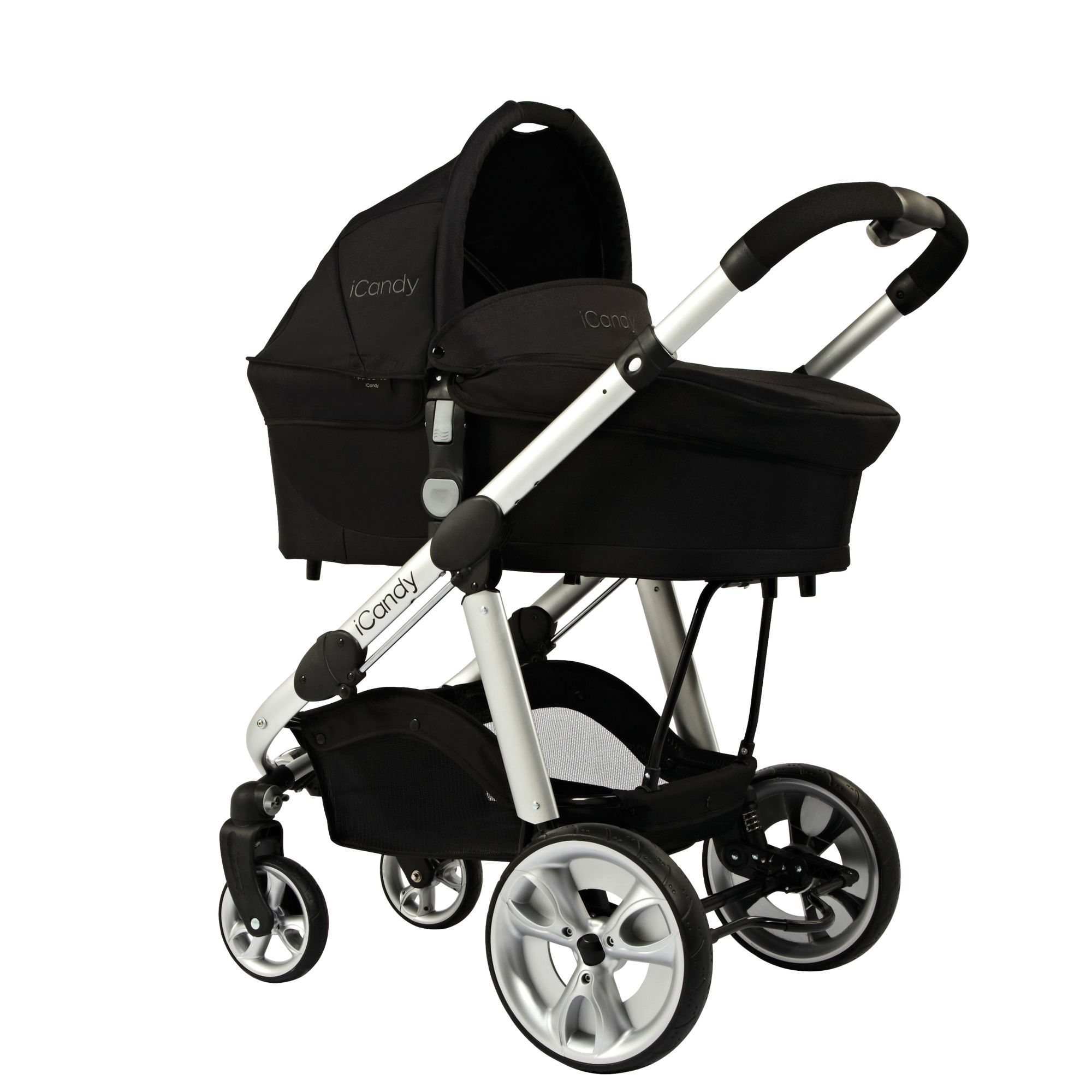 iCandy Apple 2 Pear Carrycot new wheels x Stroller