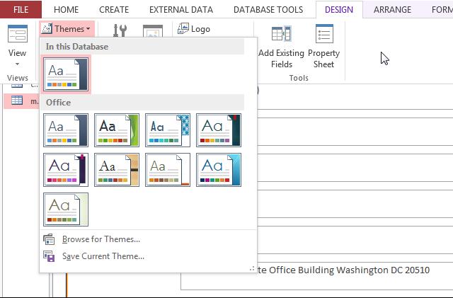 Microsoft Data Access Tool