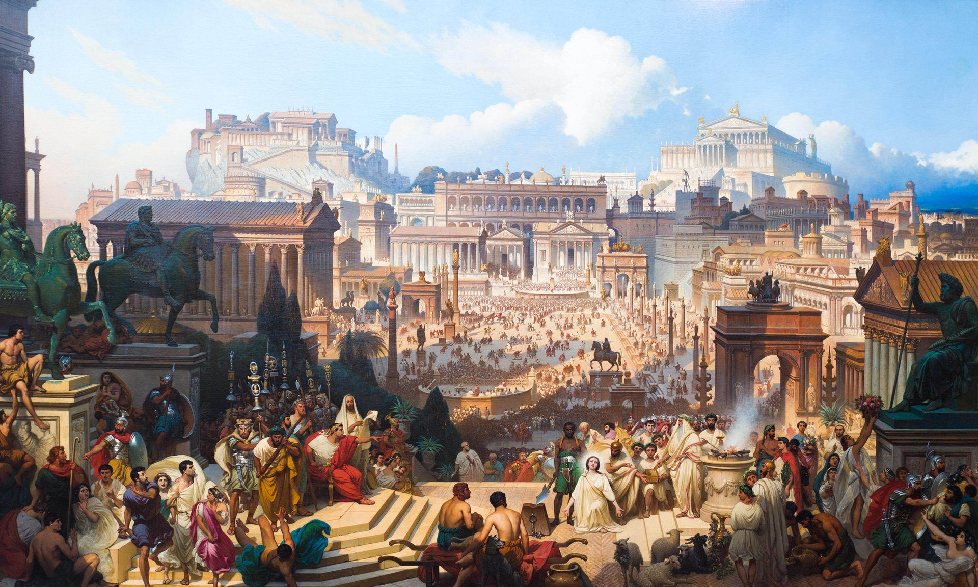 Idealized Rome