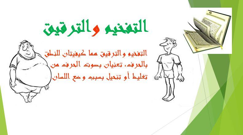 التفخيم والترقيق تجويد القرآن الكريم Convenience Store Products