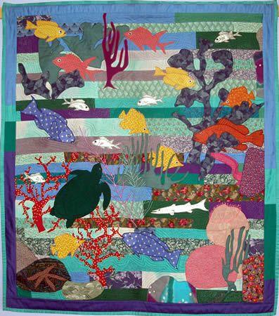 tropical fish pattern arts crafts pinterest fish patterns
